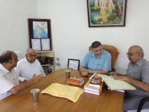 Director Of AIIMS Jodhpur Visit Gita Press